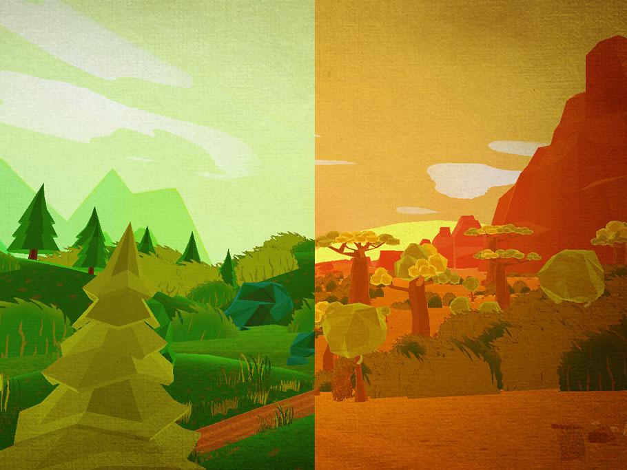 virtual reality landscapes